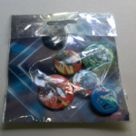 BBC  Doctor Who 6x button pin badges keep clam daleks etc